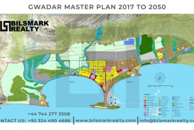 Gwadar master plan map