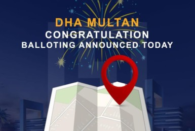 Dha Multan Balloting result