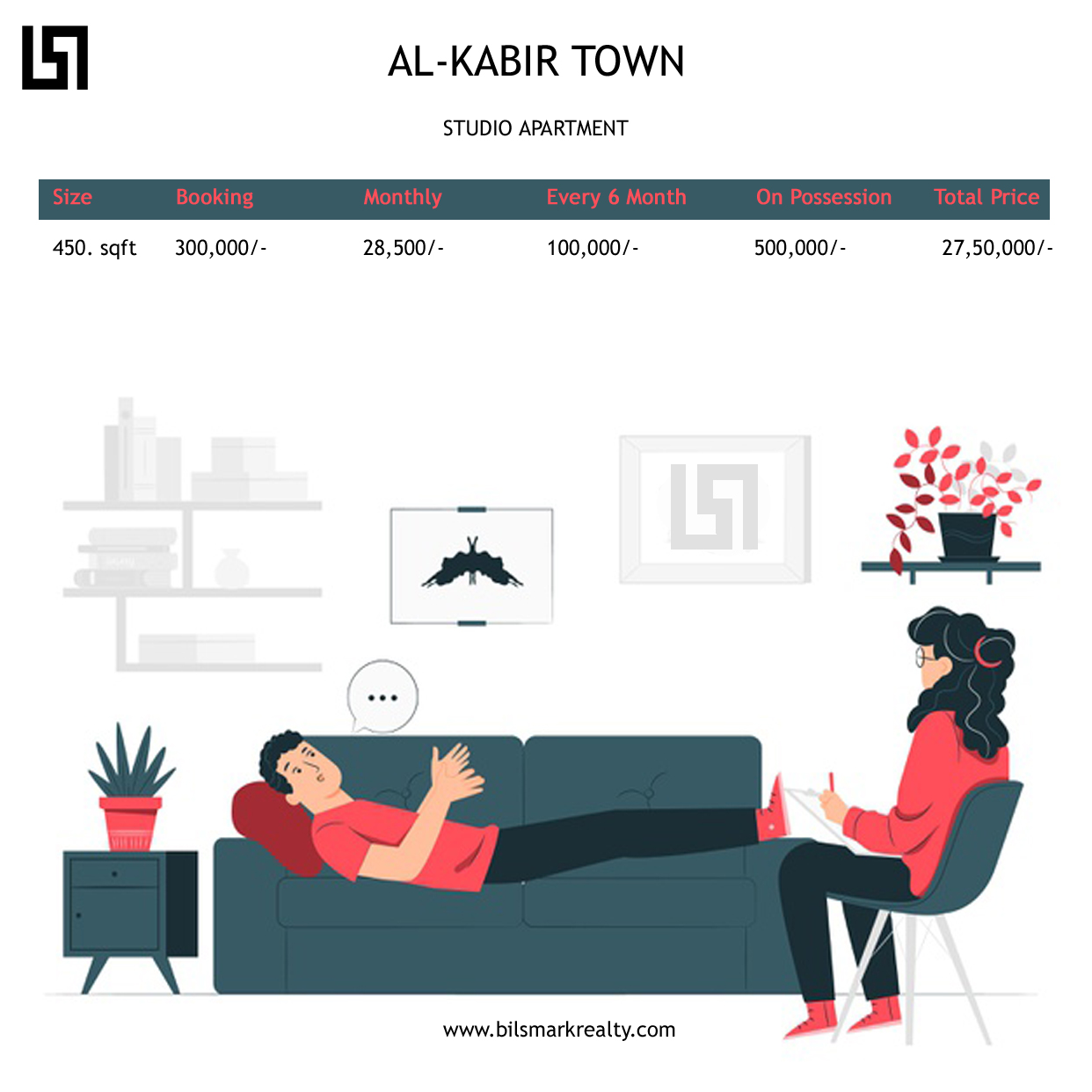 Al Kabir Town Studio Apartment | Near to Ring Road | 4 Year Payment Plan