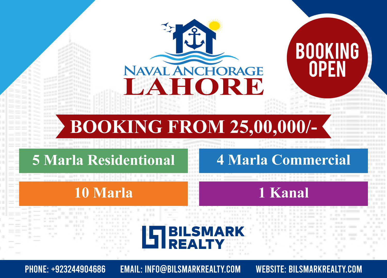 Naval Anchorage Lahore Payment Plan | Location Map | Plot for Sale