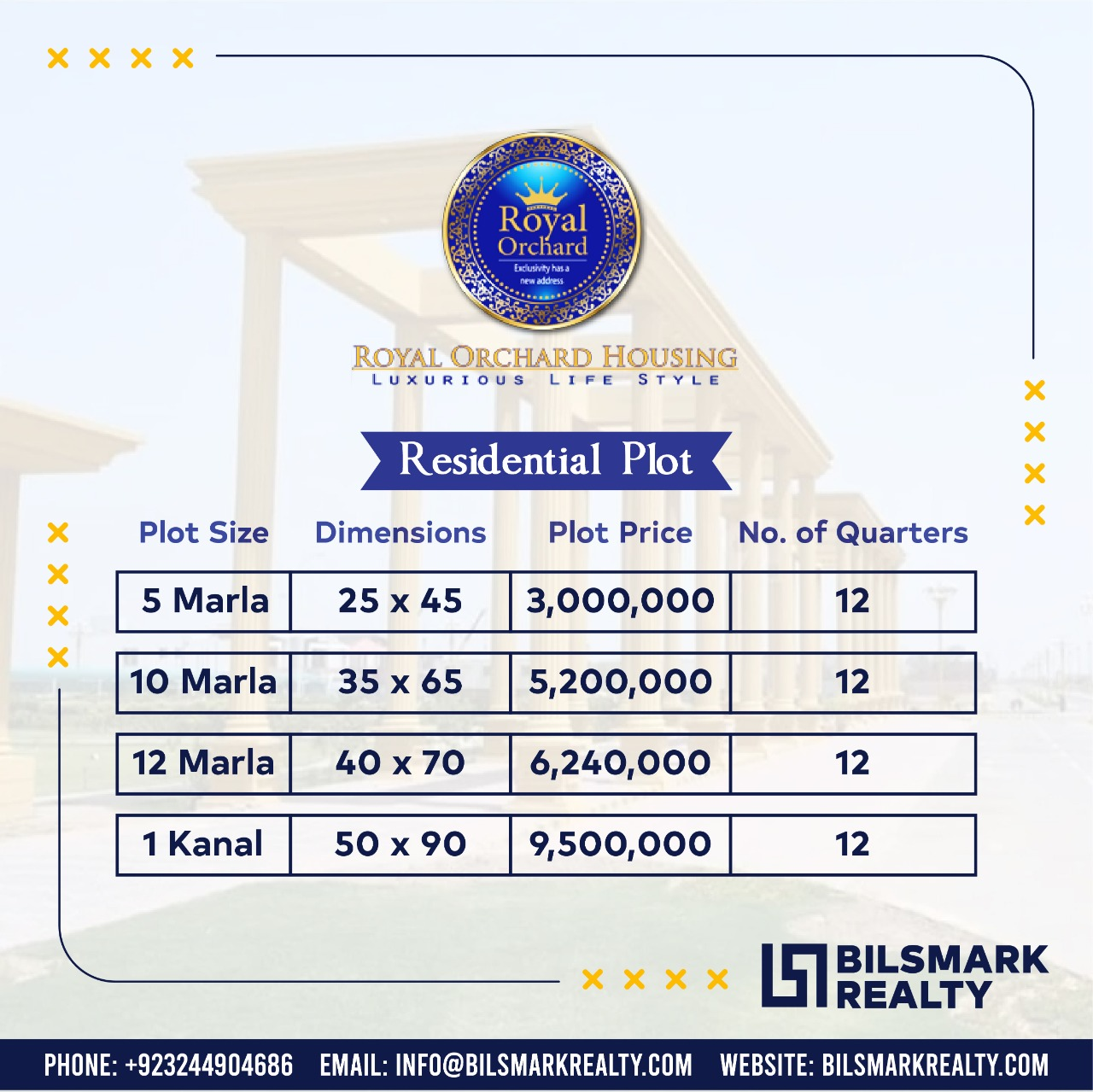 Royal Orchard Multan | Payment Plan | Location Map | Plot for Sale